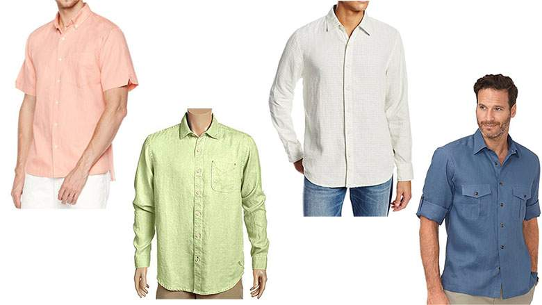 Men's Linen Shirts: 15 Long & Short Sleeves for Summer - Yoo Wo