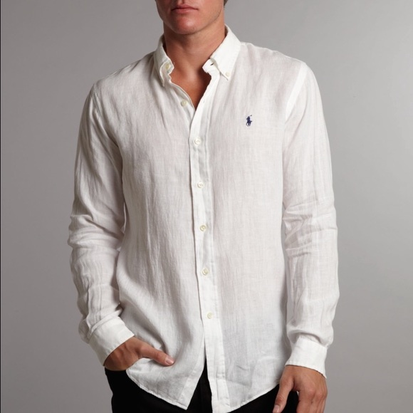 Ralph Lauren Shirts | Brand New Mens Polo Linen Shirt Xl | Poshma