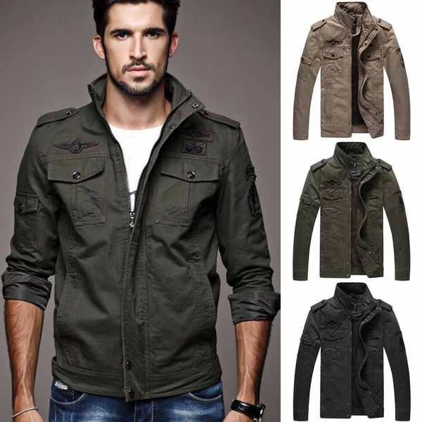 Military Jacket Men Military Style Jackets For Men Mens Army .