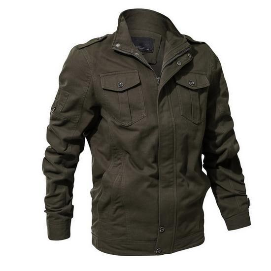 Men's Military Style Jacket - 3 colo