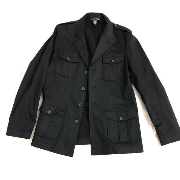 H&M Jackets & Coats | Hm Mens Military Style Jacket | Poshma