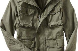 Mens Military Jacket, Fennel Seed, $60 | Moda para rapazes, Moda .