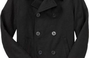 Old Navy Men Wool Peacoat Pea Coat Jacket $85 | Wool peacoat .
