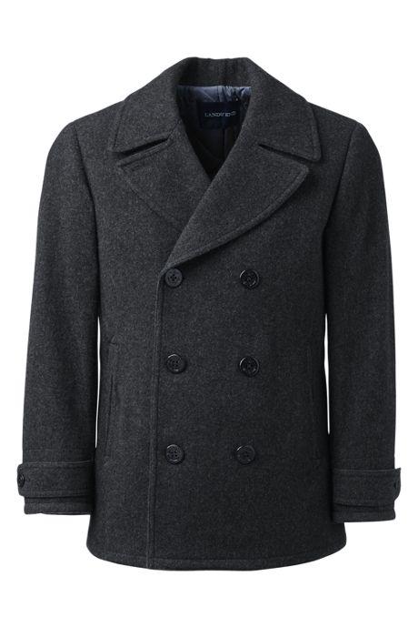 Men's Wool Peacoat, Men's Wool Coats, Warm Winter Coats, Men's .