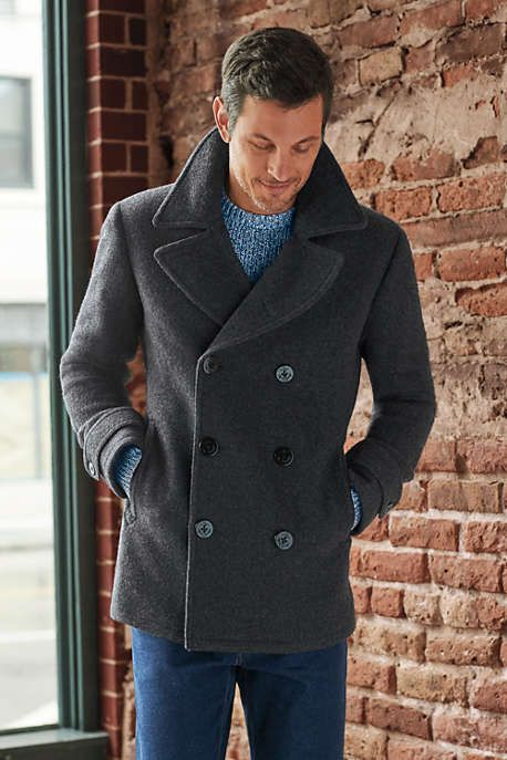 Men's Wool Peacoat | Peacoat men, Mens fashion fall outfits, Mens .