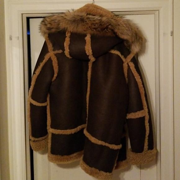 Jakewood Jackets & Coats | Mens Shearling Coat Hat | Poshma