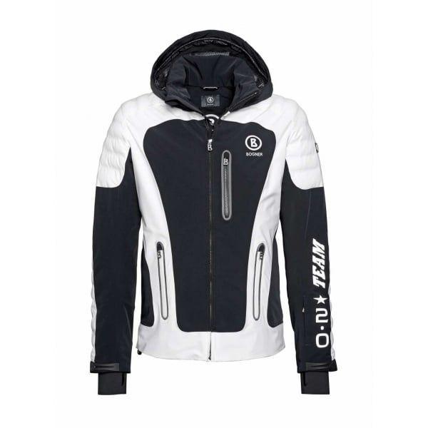 Bogner Team T Mens Ski Jacket in Black - http://www.white-stone.co .