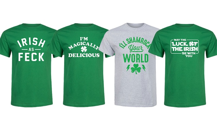 Men's St. Patrick's Day Tees | Groupon Goo