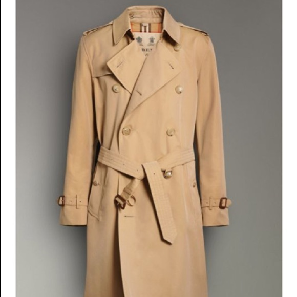 Burberry Jackets & Coats | Mens Trench Coat | Poshma