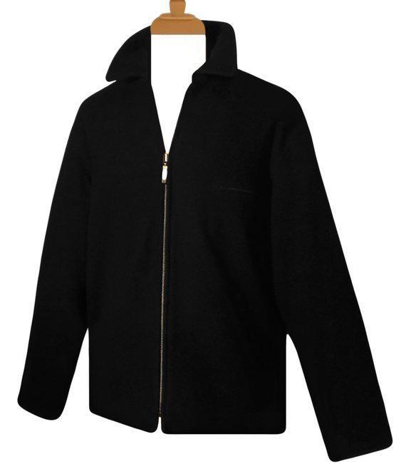 Mens Winter Coat Winter Jacket Wool Coat Black Coat Black   Et