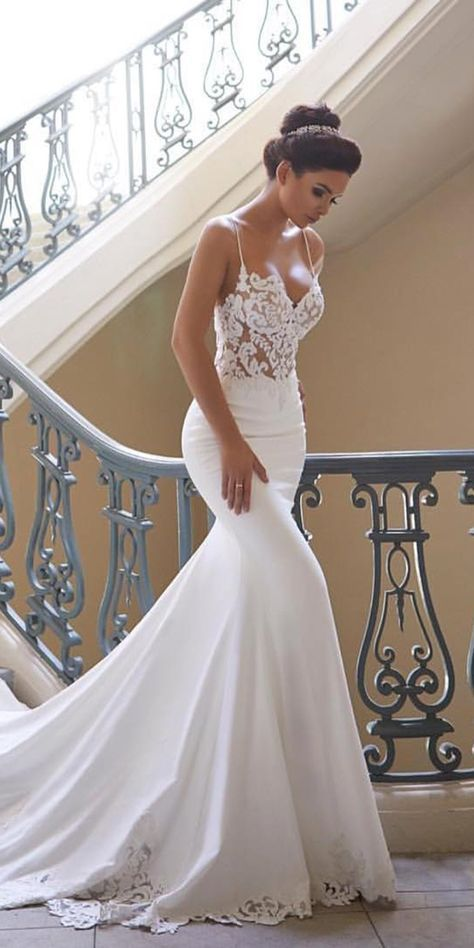 33 Mermaid Wedding Dresses For Wedding Party | Wedding dresses .
