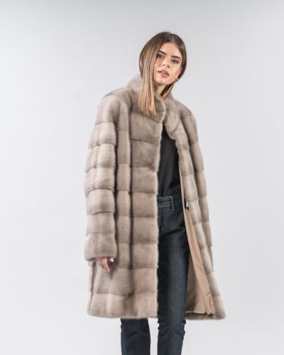 Mink Coat - 100% Real Mink Fur Coats   Haute Aco