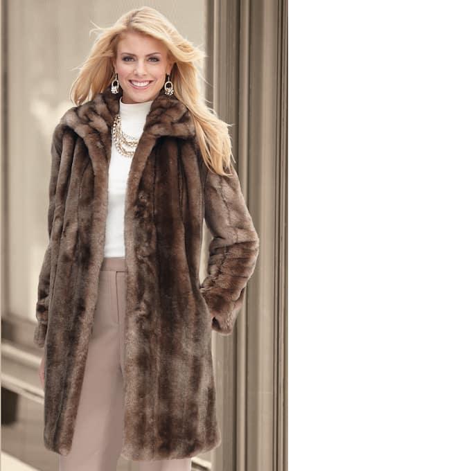 Faux-Mink Coat   Montgomery Wa