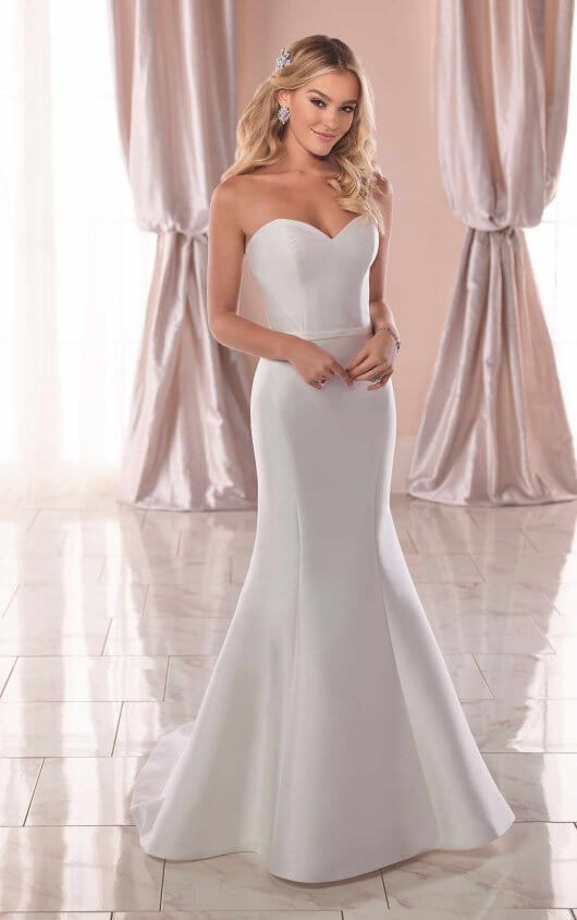 Simple and Modern Wedding Dress - Stella York Wedding Dress