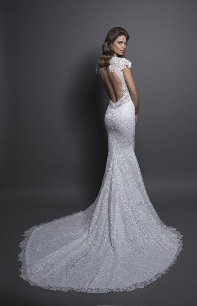 Modern Sheath Wedding Dress | Kleinfeld Brid