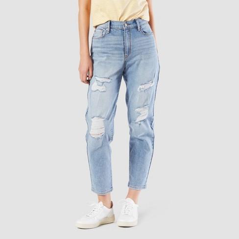 DENIZEN® From Levi's® Women's High-Rise Mom Jeans (Juniors') : Targ
