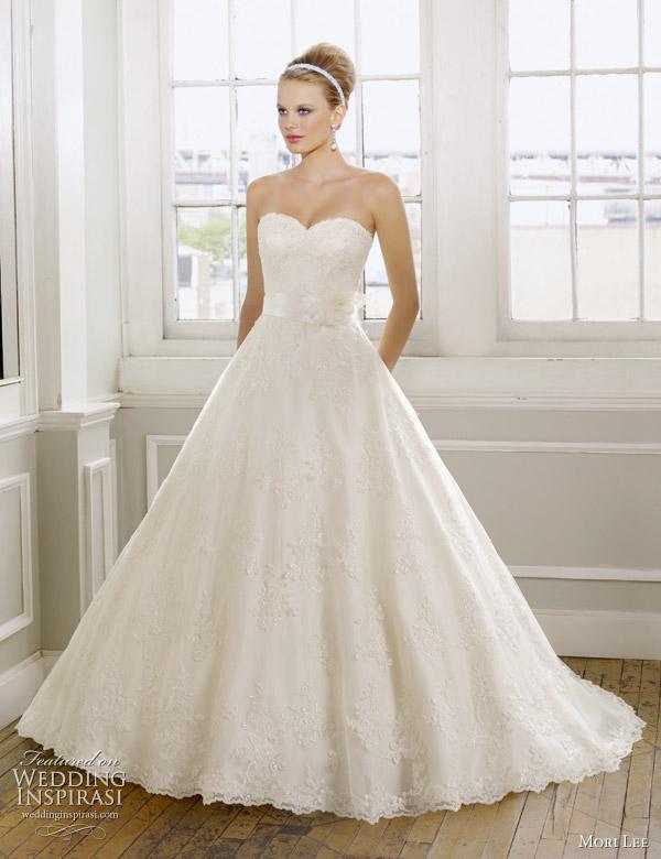 Mori Lee Wedding Gowns 2011 Bridal Collection | Wedding Inspira