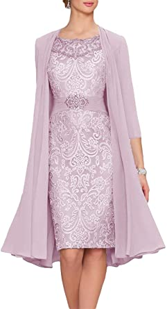 Amazon.com: New Deve Women's Mother Of The Bride Dresses Tea .