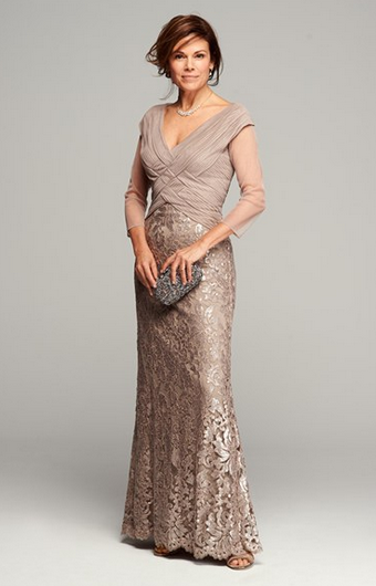 Beautiful Mother of the Bride dress. If I had another unmarried .