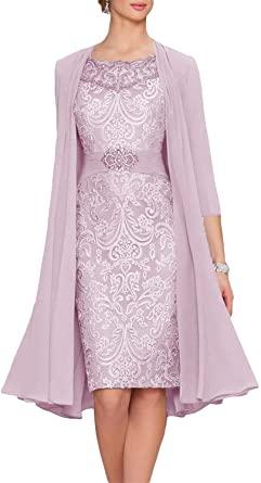 Amazon.com: New Deve Women's Mother Of The Bride Dresses Tea .