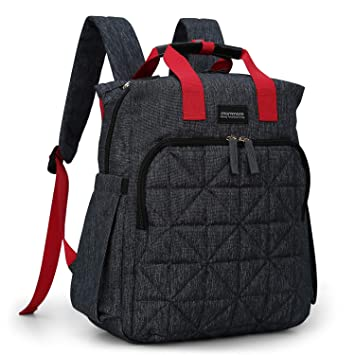 Amazon.com : mommore Diaper Bag Backpack Travel Nappy Bag with .