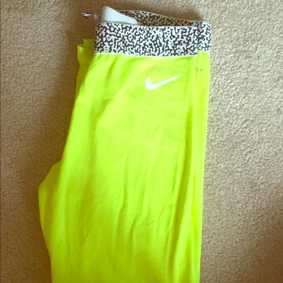 Nike Pants | Neon Yellow Leggings | Poshma