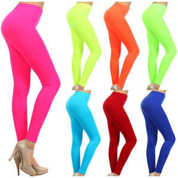 Neon Colored Seamless Full Length Leggings – Neon Nati