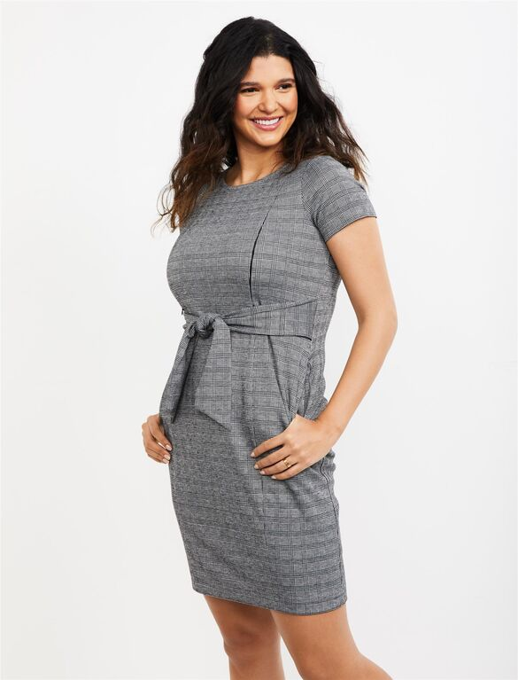 Zipper Side Access Nursing Dress | A Pea in the Pod Materni