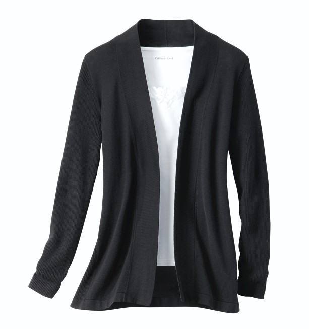 Classic Open Front Cardigan - Coldwater Cre