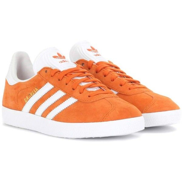 Adidas Originals Gazelle Suede Sneakers ($110) ❤ liked on .