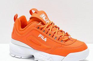 FILA Disruptor II Orange Shoes | Zumi