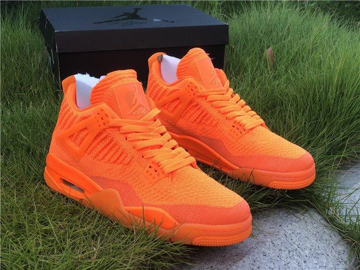 2019 Jordan 4 Flyknit Total Orange For Sa