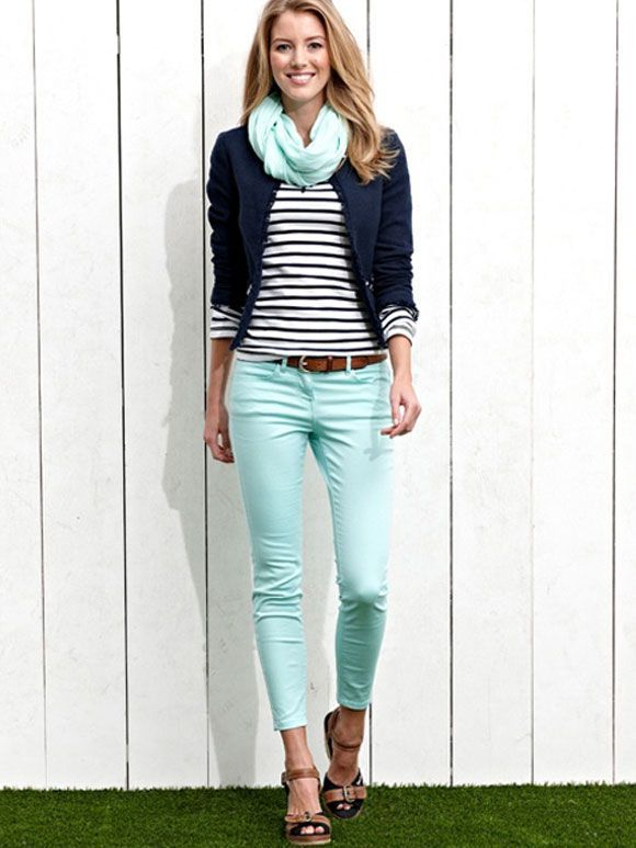 8 preppy casual spring outfits - Find more ideas at women-outfits .