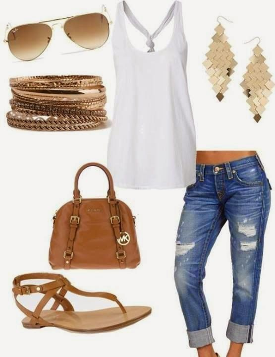 9 casual summer outfits for women with pants and shorts - Page 6 .