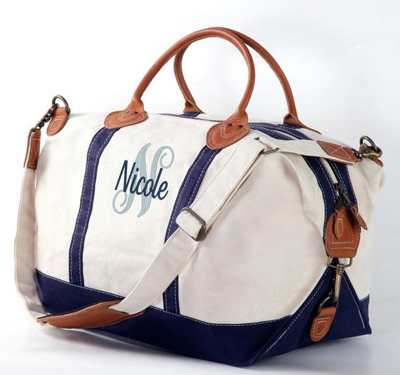Overnight Bag Monogram Duffle Bag Weekender Bag Women Monogram | Et