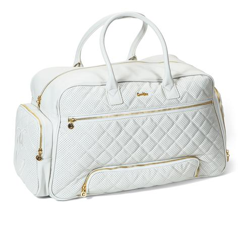 Womens Overnight Bag (White) – Cookies Clothi