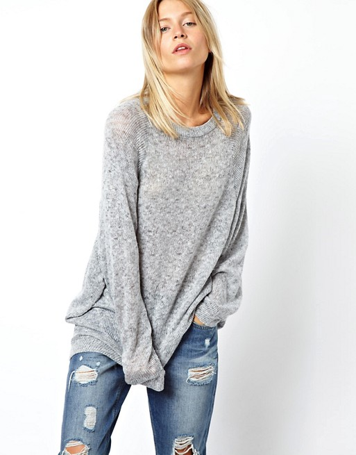 ASOS Oversized Sweater in Soft Fabric | AS