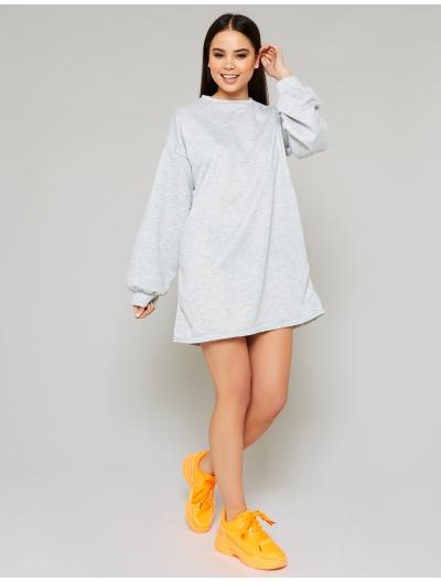 Grey Oversized Jumper Dress | Public Desire | Public Desire