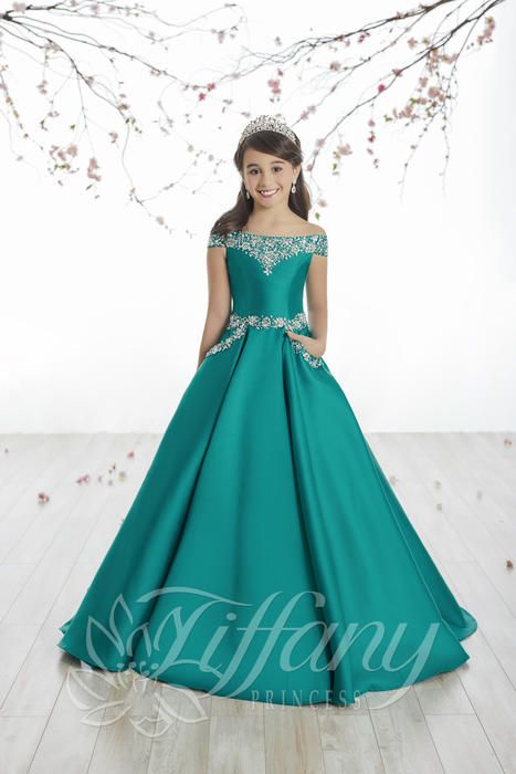 Tiffany Princess 13513 | Kids pageant dresses, Girls pageant .