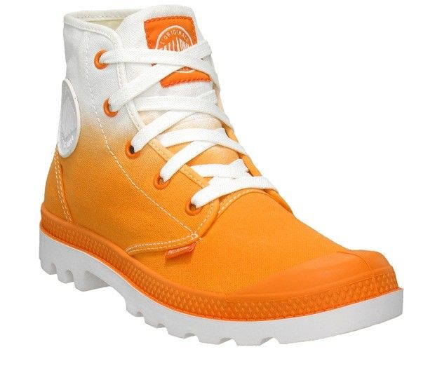 Palladium Boots Blanc Hi - ORANGE FADE | Palladium boots, Kids .