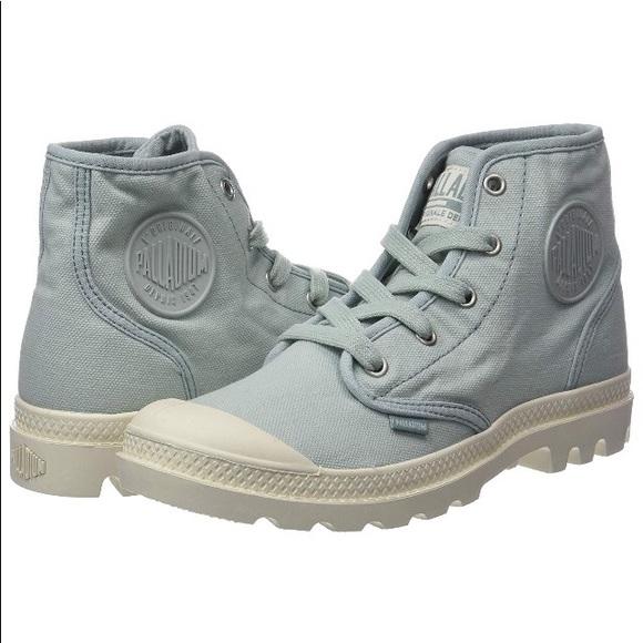 Palladium Shoes | Pampa Boot Femme Hi Top Boots Blue New | Poshma
