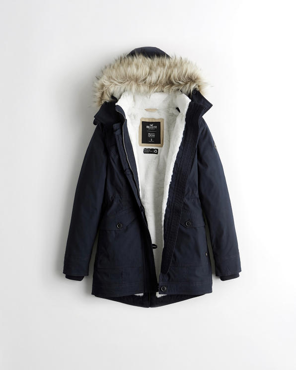 Girls Cozy-Lined Parka | Girls Clearance | HollisterCo.c