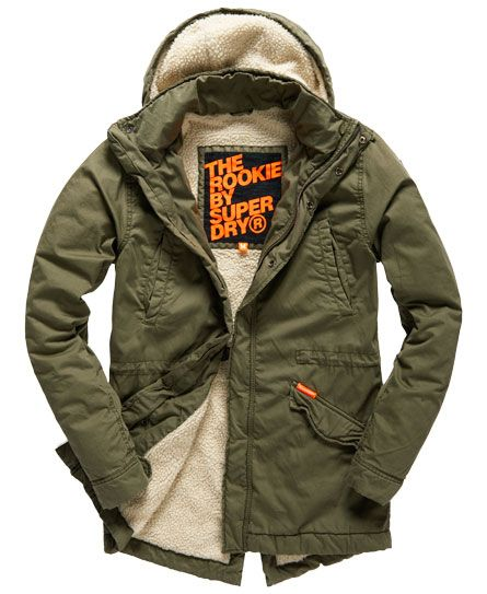 Rookie Military Parka Coat in 2020 | Military parka, Mens clothing .