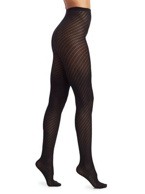 Wolford - Gabrielle Patterned Tights - saks.c