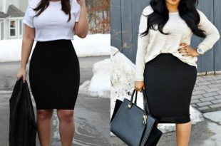 55 Amazing Outfits With Black Pencil Skirts | Pencil skirt outfits .