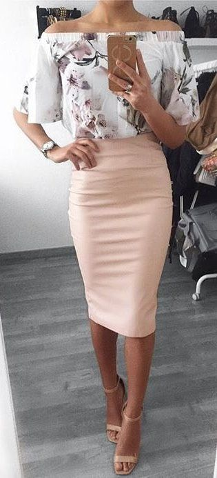 27 Cheap Pencil Skirt Outfit Ideas for Fall and Winter | Fashion .
