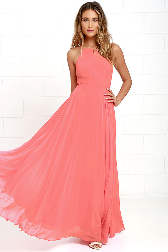 Pink Maxi Dresses