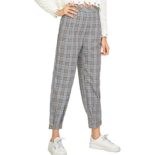 Women's Casual Plaid Pants Sale, Price & Reviews | Gearbe