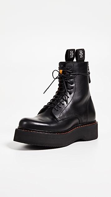 R13 Platform Combat Boots | SHOPB