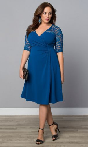 33 Plus Size Wedding Guest Dresses {with Sleeves}! | Plus size .